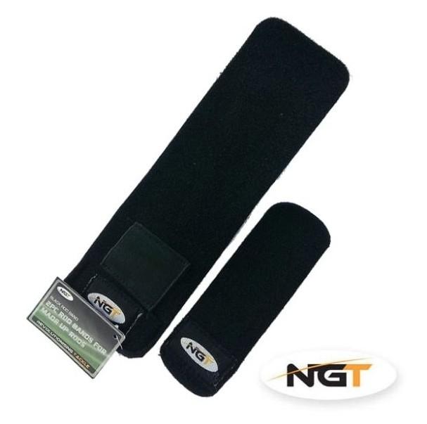 Neoprénové pásky na prut NGT s kapsou na zátěž