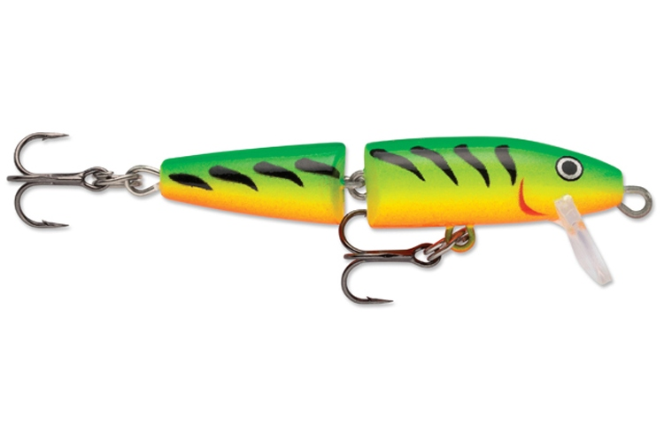 Wobler Rapala Jointed Floating Fire Tiger