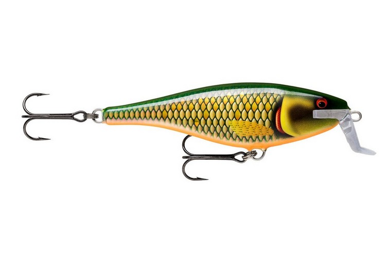 Rapala Super Shad Rap Floating 14 - Scaled Roach