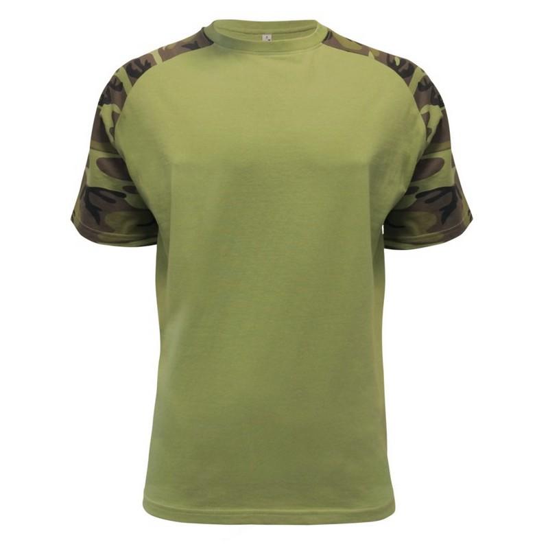 Pánské tričko Raglan je další vydařený kousek z kolekce MILITARY.Osloví každého, kdo má rád pobyt v přírodě, táboření, různé sportovní a zájmové  aktivity.Přijdou si na své  rybáři, myslivci, či houbaři.Je určené jak na běžné nošení, tak  do hospůdky mezi kamarád