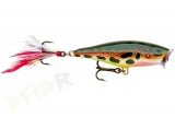 Wobler Rapala Skitter Pop Top Water Fresh 7cm - 7g / F