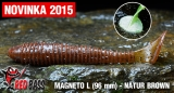 Magneto L REDBASS - Brown / 96mm - 1ks