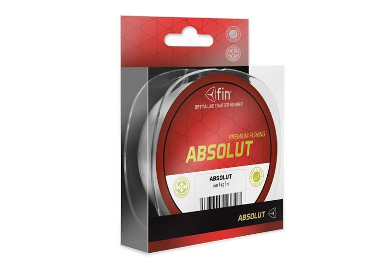 Vlasec FIN Absolut - 0,12mm/ 3,1lbs / 200m