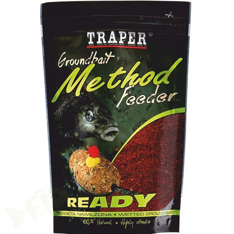 Traper Method Feeder 0,75kg/ Halibut Red