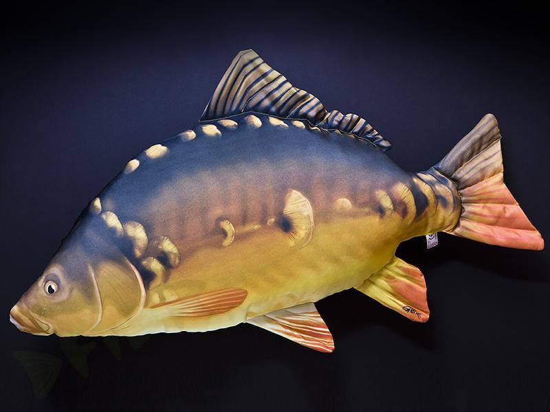 Plyšová ryba KAPR Giant - ( 90cm )  474f16c4ec