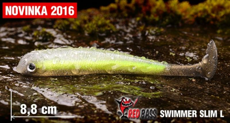 Ripper REDBASS Swimmer Slim L - 88mm