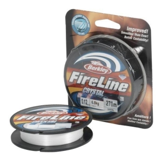 Šňůra BERKLEY FireLine Crystal 270m/ 0,12mm / 10,20kg