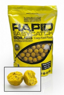 Mivardi Boilies Rapid Easy Catch-950g/24mm/Ananas+ N.BA