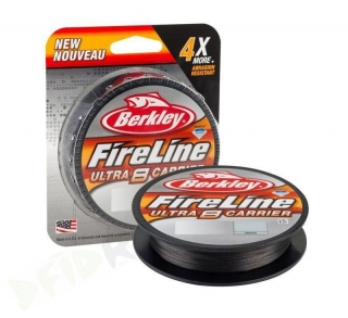 Šňůra Berkley Fireline Ultra 8 Smoke 300m - 0,20mm / 13,9kg
