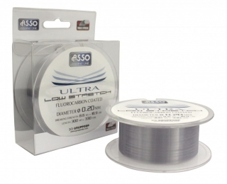 Vlasec Asso Ultra Low Stretch_300m_0,18mm_ 6,30kg