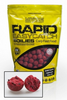 Mivardi Boilies Rapid Easy Catch Anglická Jahoda - 950g / 20mm