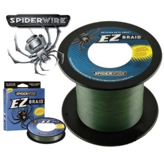 SPIDERWIRE EZ Braid - zelená - 0,17mm/ 8,40kg / 270m