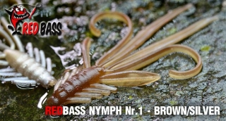 Nymfa REDBASS S - Brown / Silver / 53mm - 1ks