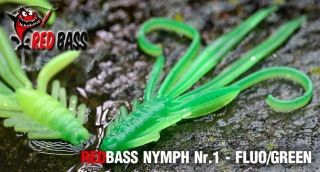 Nymfa REDBASS S - Fluo / Green / 53mm - 1ks