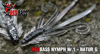 Nymfa REDBASS S - Natur G / 53mm - 1ks