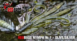 Nymfa REDBASS S - Olive / Silver / 53mm - 1ks
