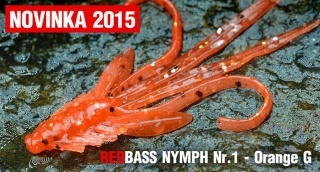Nymfa REDBASS S - Orange G / 53mm - 1ks