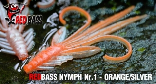 Nymfa REDBASS S - Orange / Silver / 53mm - 1ks