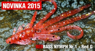 Nymfa REDBASS S - Red G / 53mm - 1ks