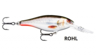 Wobler Rapala Shad Rap Deep Runner 7cm_8g_ROHL