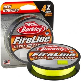 Šňůra Berkley Fireline Ultra 8 Fluo Green 300m - 0,20mm_13,9kg