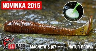 Magneto S REDBASS - Natur Brown / 67mm - 1ks